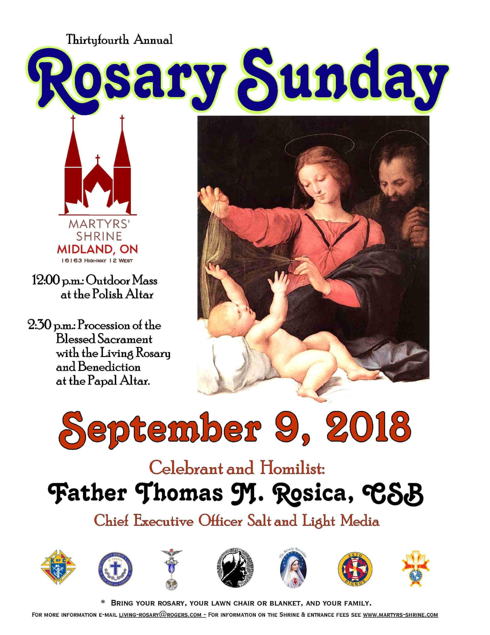 Rosary Sunday 2018
