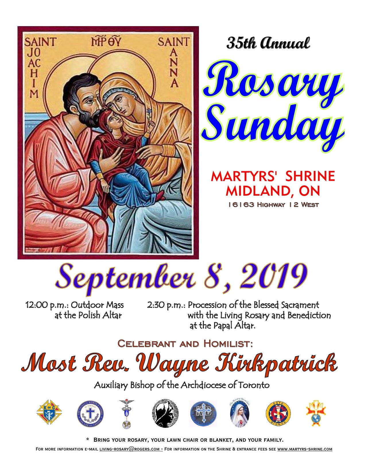 35th Annual Rosary Sunday